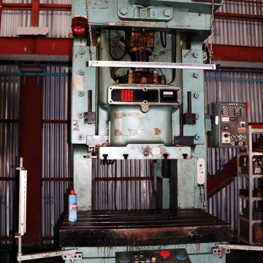 Single press 150t : Qty 1 (Made by Washino engineering)